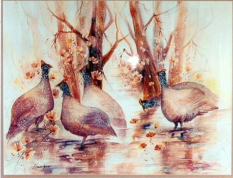 Just Singing in the Rain by Estelle Hartley