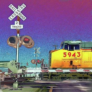 Waiting On A Train by Speedy Birdman