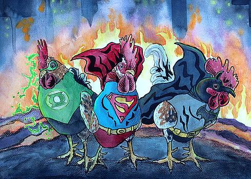 Justice Flock by Kirsten Beitler