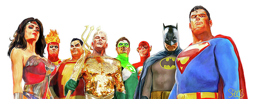 Justice League  by Mark Spears