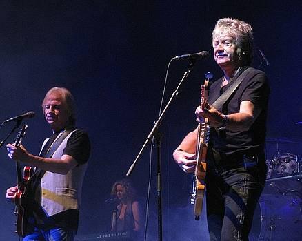 Justin and John of the Moody Blues by Melinda Saminski
