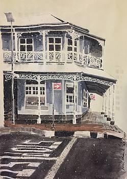 Juta street in the snow by John Ostrowick