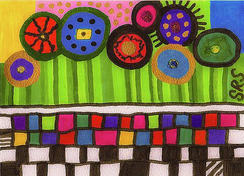 Juxtaposition in Color by Susan Schanerman