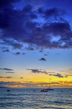 Kaanapali Moonrise by LiveforBlu Gallery