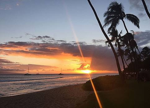 Kaanapali Sunset #2 by Stacia Blase