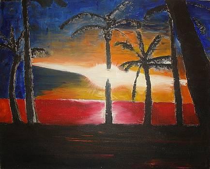 Ka'anapali Sunset by Jared  Kocak