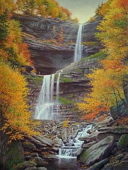 Kaaterskill Falls by Barry DeBaun