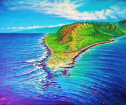 Kaena Point Refractions by Joseph   Ruff