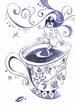 Arte Venezia - Kaffee - Arte Cafe - Coffee Cup Drawing