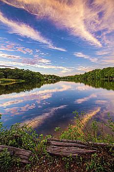 Kahler's Pond Clouds by Robert Seifert