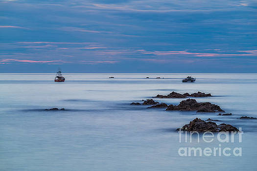 Kaikoura Blue by Paul Woodford