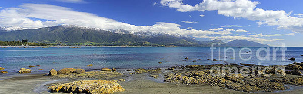 Kaikoura Panorama by Peter Kennett