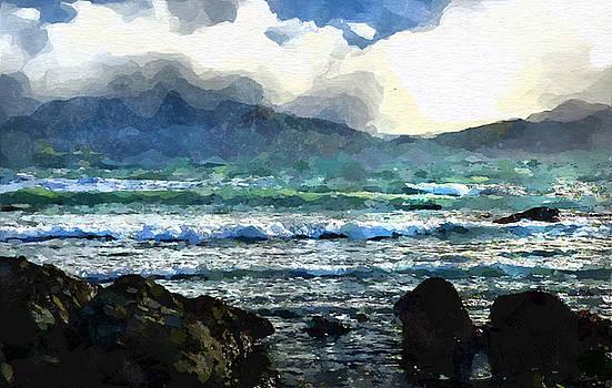 Kaikoura seascape by Kai Saarto