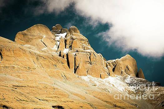 Kailas kora Himalayas Mountain Tibet Yantra.lv by Raimond Klavins