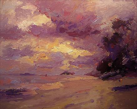 Kailua sunrise by R W Goetting