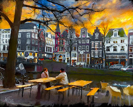 Kaizersgracht 451. Amsterdam by Juan Carlos Ferro Duque