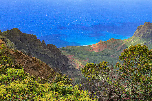 Kalalau Inspiration by Bonnie Follett