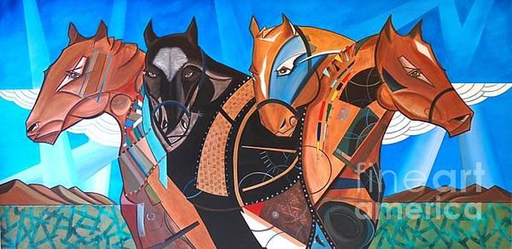 Kaleden Spirit Horse by John Lyes