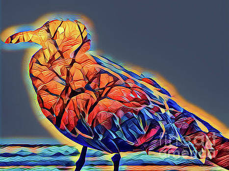 Kaleidoscope Bird by Paul Wilford