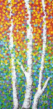 Kaleidoscope Canopy by Sandra Lett