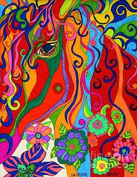 Kaleidoscope Eyes 2016 by Alison Caltrider