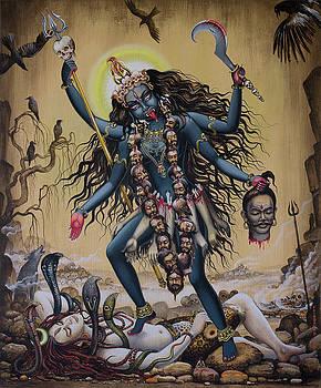 Kali by Vrindavan Das