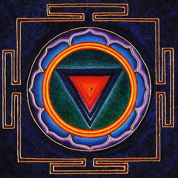 Kali Yantra by Erik Grind