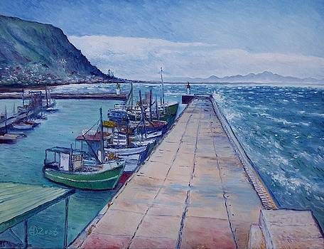 Kalk Bay Jetty  Cape Town South Africa 2006  by Enver Larney