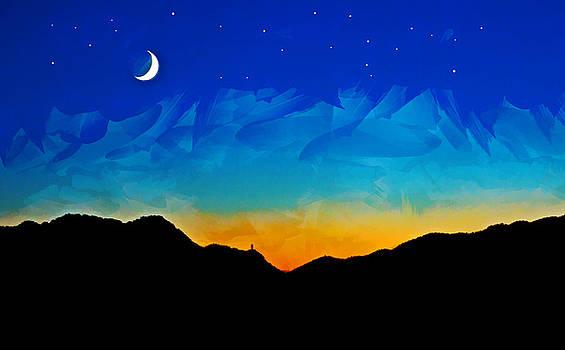 Kalkan Sunset by Gareth Davies