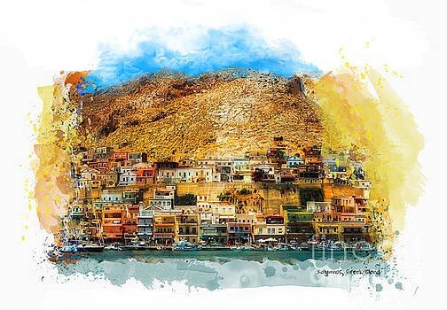 Justyna Jaszke JBJart - Kalymnos Greek Island