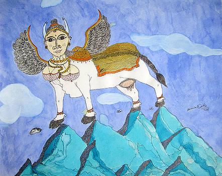 Kamadhenu by Umesh UV