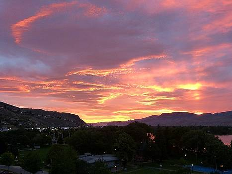Kamloops Sunset 2 by Will Borden