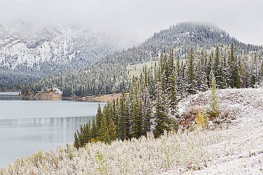 Kananaskis Country Winter Snow Canadian Rockies by Binh Ly