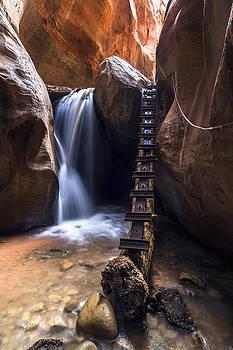 Kanarraville Falls by Bjorn Burton