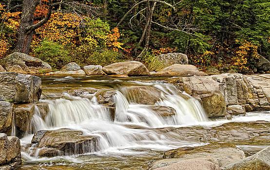 Kancamagus Cascades by Liz Mackney