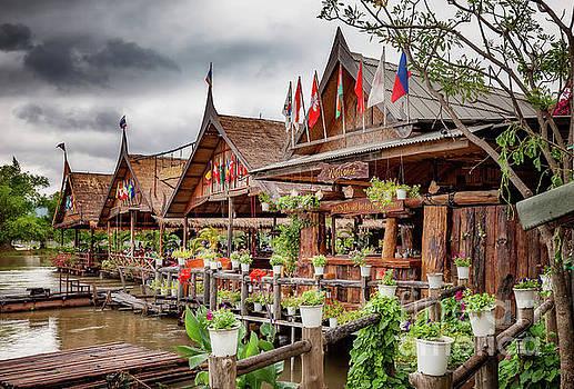 Adrian Evans - Kanchanaburi River Shops
