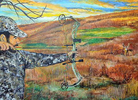 Kansas Bowhunt by Alvin Hepler