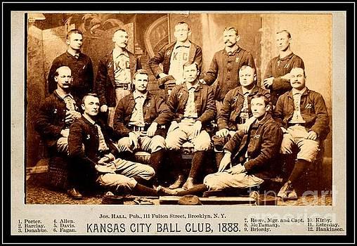 Kansas City Baseball Club 1888 by Peter Ogden