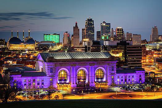 Kansas City Evening by Notley Hawkins