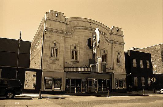 Kansas City - Gem Theater Sepia by Frank Romeo