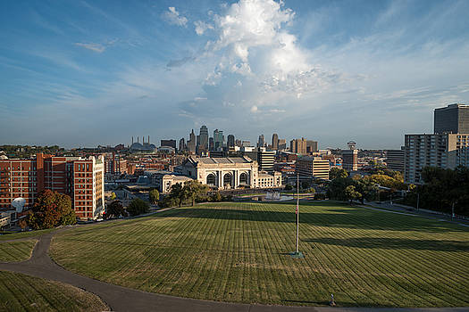 Kansas City Skyline by Clay Swatzell