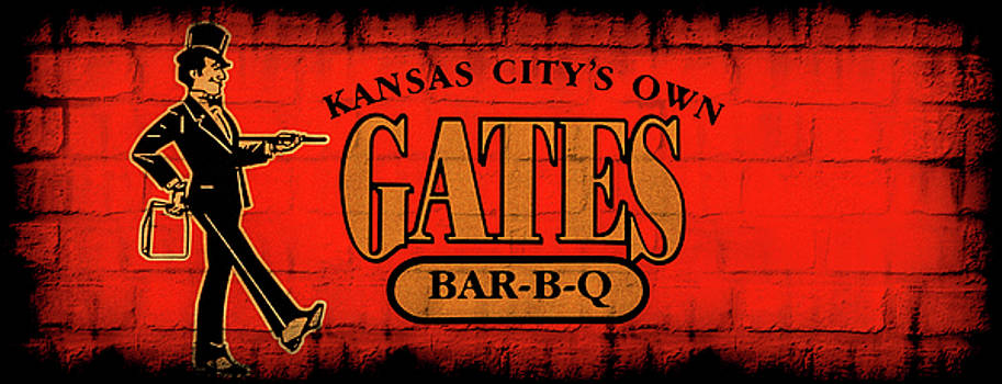 Kansas City's Own Gates Bar-B-Q by Sennie Pierson