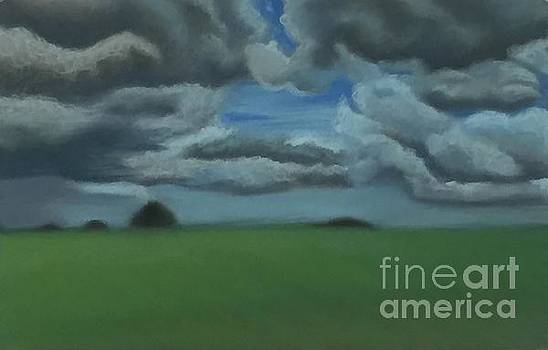 Kansas Clouds by Emily Young
