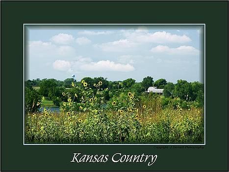 Kansas Country Card by Jim  Darnall