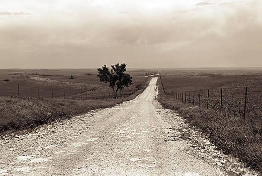 Kansas Country Road by Thomas Bomstad