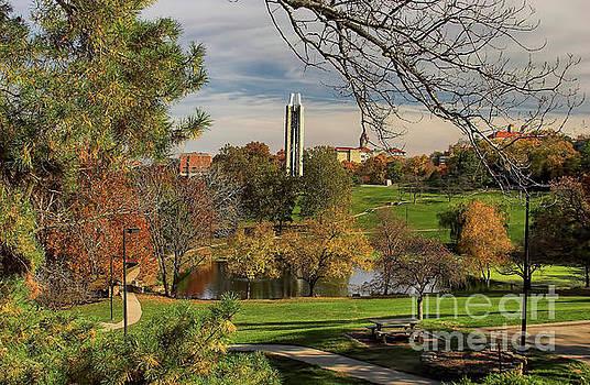 Kansas University by Joan Bertucci