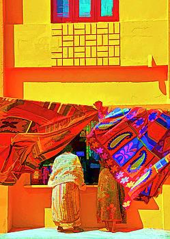 Kanyakumari Shop by Dennis Cox Photo Explorer
