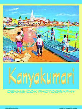 Dennis Cox Photo Explorer - Kanyakumari Travel Poster