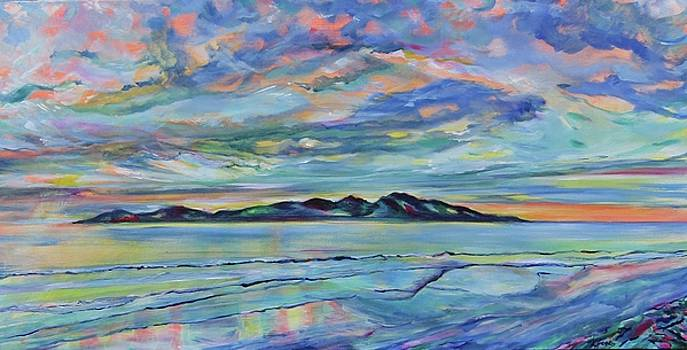 Kapiti Island by Karin McCombe Jones