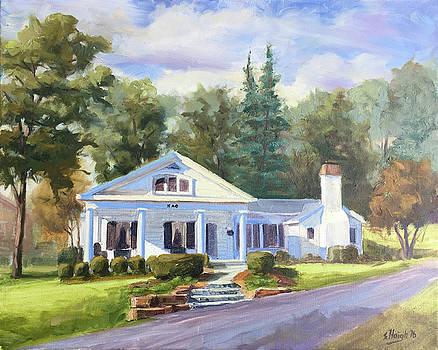 Kappa Alpha Theta Sorority House, Denison University  by Steve Haigh